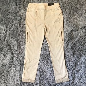 NWT Chico's So Slimming Zipper Cargo Jeans!
